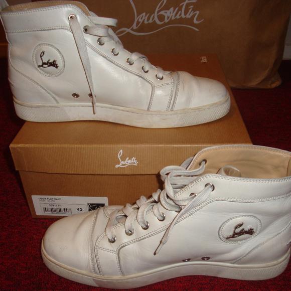 Christian Louboutin Mens High Sneakers